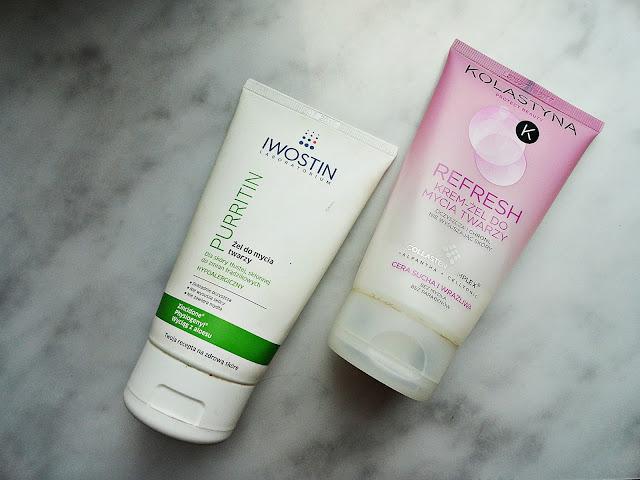 loreal kolastyna iwostin żel do mycia twarzy oczyszczanie szczoteczka soniczna masaż