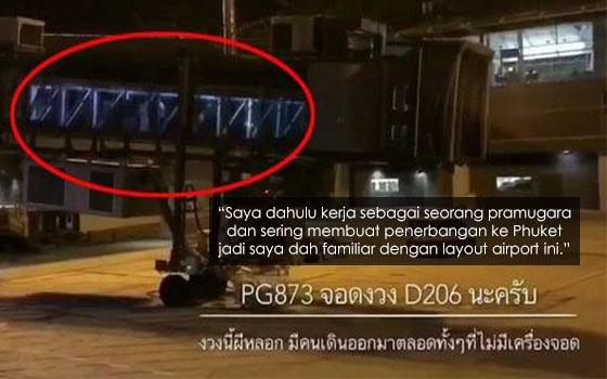 Bekas Pramugara Perjelas Video Misteri Penumpang Turun Dari Aerobridge Tanpa Pesawat