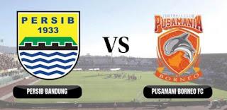 Persib Bandung vs Pusamania Borneo FC di Semifinal Piala Presiden 2017