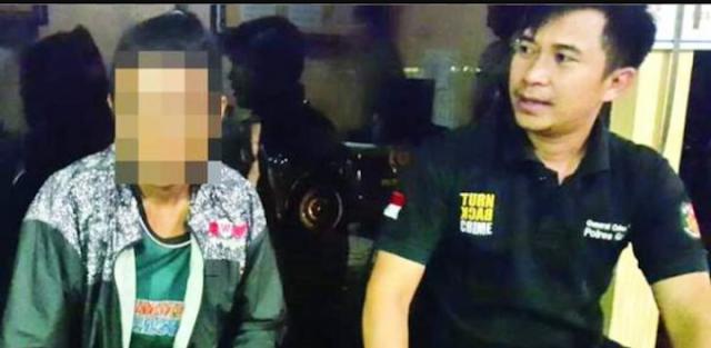 Hina Habib Rizieq Melalui Akun Facebook, Pemuda Ini Dipolisikan