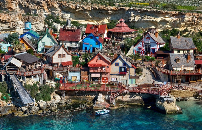 Kỳ bí ngôi làng của thủy thủ Popeye ở Malta -6