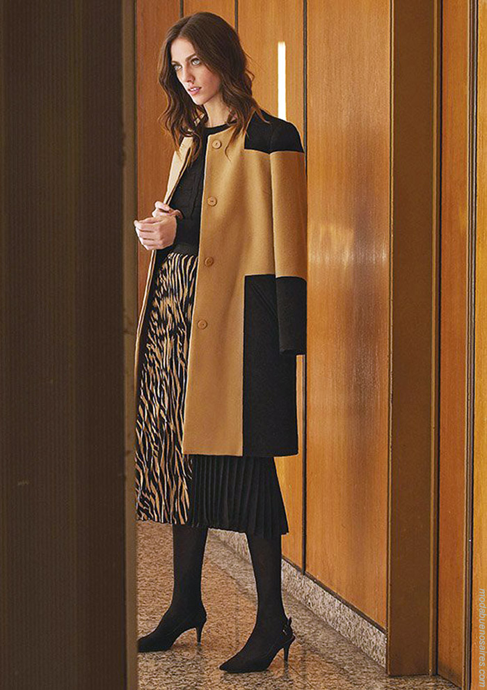 Faldas invierno 2019 animal print. Moda invierno 2019.