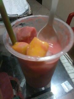 jus sop buah segar