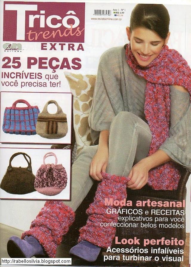 TRICÔ TRENDS EXTRA Nº 1-Revista