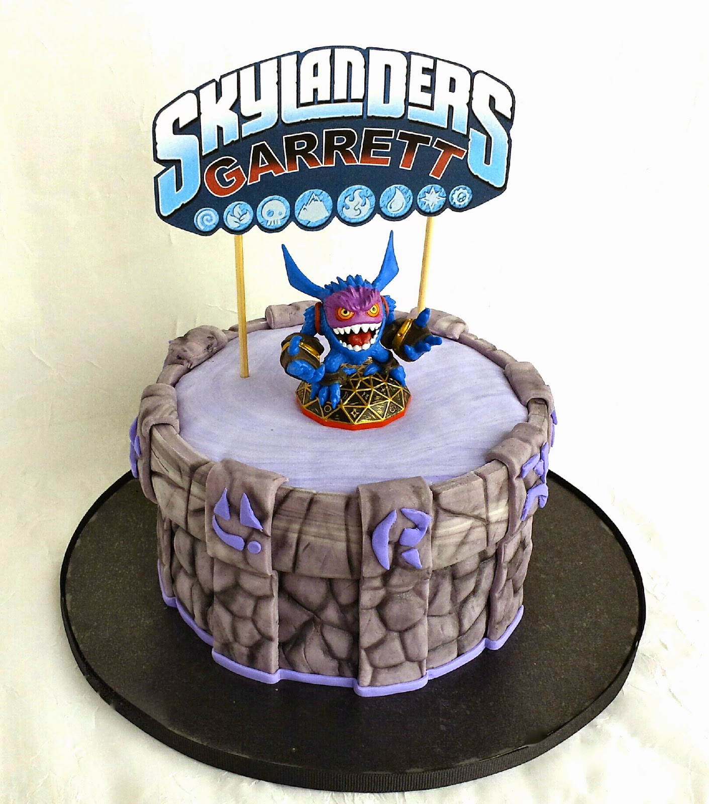 Skylander Cake Topper Tutorial