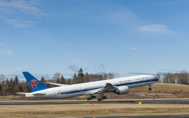 First Livery Boeing 777-300ER of China Southern