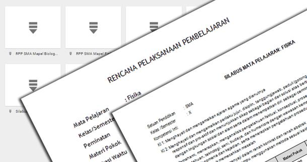 RPP Silabus IPA IPS dan Ilmu Bahasa SMA Perminatan