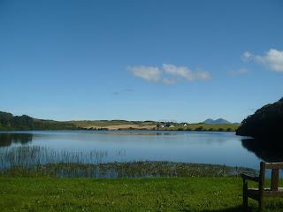 dedinka Bridgend, jazero Loch Skerrols