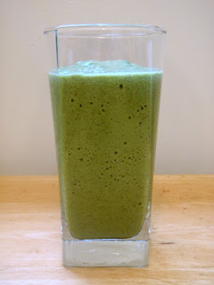 kiwi apple banana green smoothie recipe