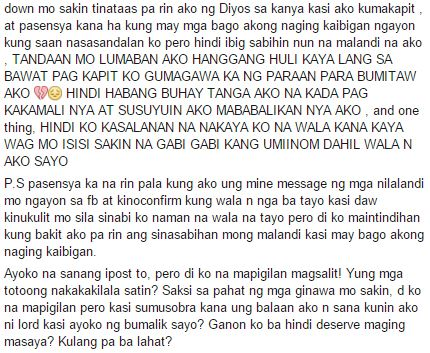 Love Letters For Boyfriend Tagalog Love Quotes