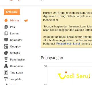 Trik memunculkan menu Google Adsense