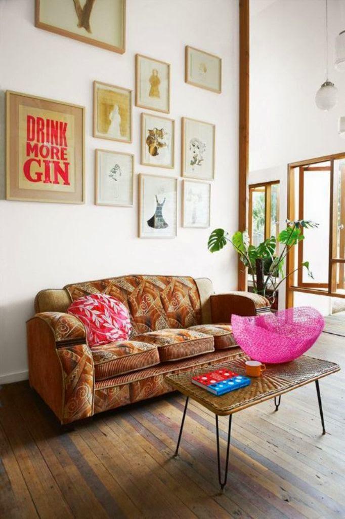 20 Inspiring Bohemian Living Room Designs | Do it yourself ... on Bohemian Living Room Decor Ideas  id=95931