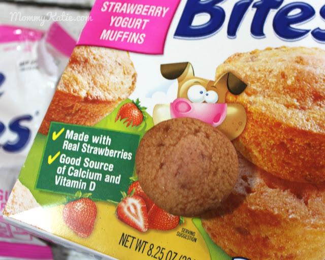 recipe: little bites strawberry yogurt muffins [16]