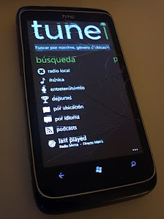 TuneIn Radio, TuneIn Radio para windows phone, aplicacion, aplicativo, celulares, smartphone, movil, moviles, musica, radio.