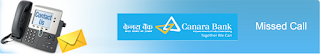 Canara Bank Missed Call Account Balance