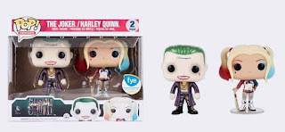 Funko Pop! 2-Pack Metallic Joker & Harley Quinn