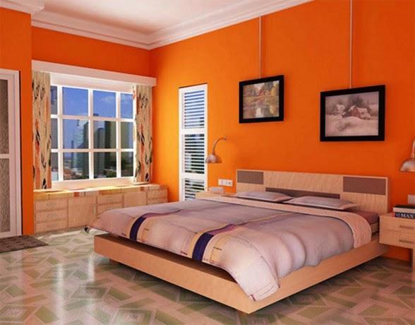 Conceptions Chambres A Coucher Avec L Orange Decor De Maison