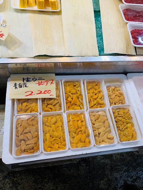 青森魚菜中心-古川市場-青森魚菜センター本店-青森產海膽