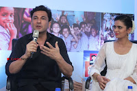Shriya Saran and Meenakshi Dixit Pos at Quaker Feed A Child Campaign  0027.jpg