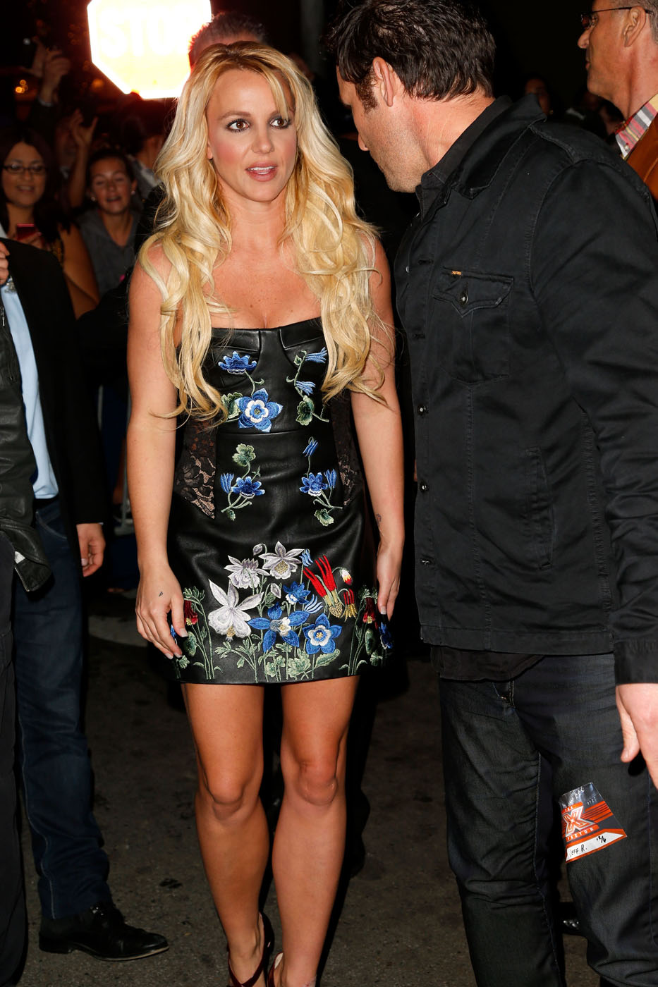 britney-spears-face-x-factor-party-12072