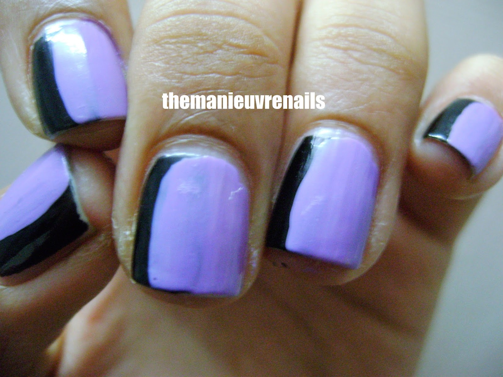 The Manieuvre Nails | Nail Art Blog: Side french manicure