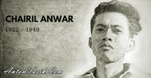 16 Puisi Chairil Anwar (Pilihan Terbaik)