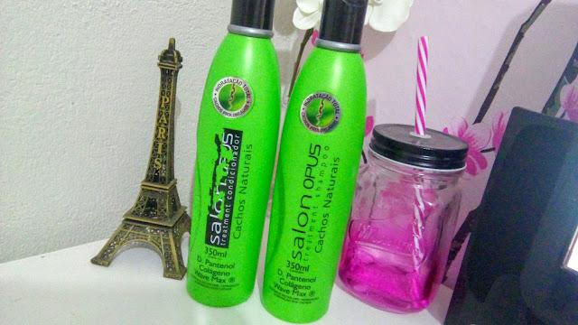 Admirável Feminismo - Shampoo e Condicionador Salon Opus Cachos Naturais