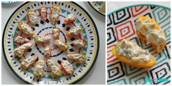 Lighened up corn dip - a healthy summer snack   www.shealennon.com