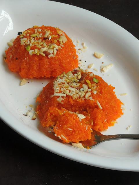 Carrot Mawa Burfi, Carrot Burfi