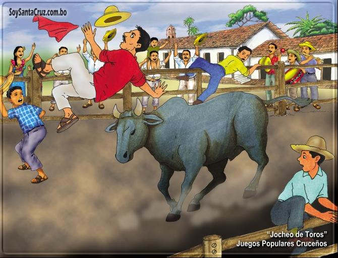 Publicacion En La Web Juegos Populares De Santa Cruz