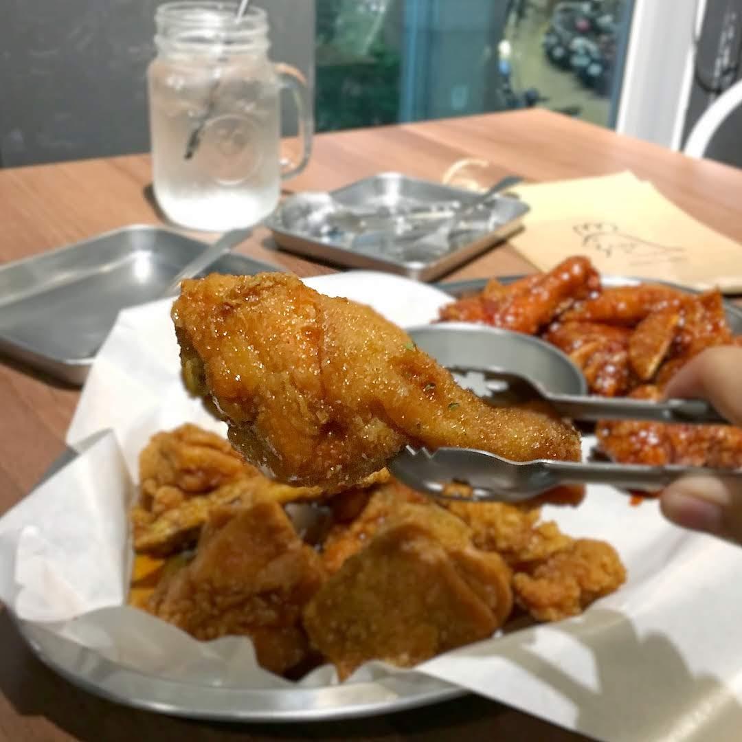 台南韓國炸雞醬油口味