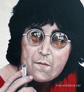 Lenny by Boulder portrait artist Tom Roderick