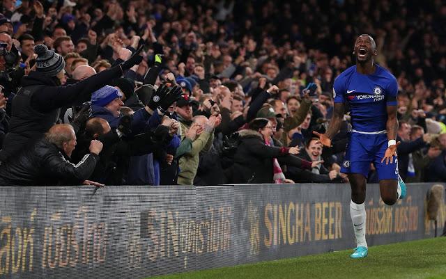 Antonio Rudiger scores in Chelsea 1-0 victory over Swansea