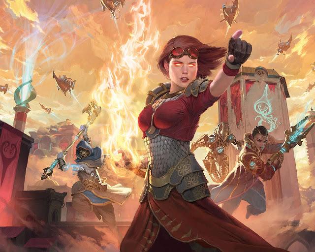Mañana La Revuelta del éter a Magic, en tiendas y en Magic Duels con campaña incluida