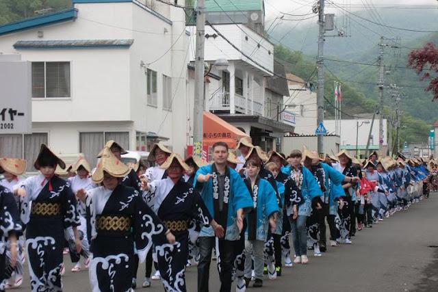 Shiretoko Hiraki (Summer coming festival) at Rausu Town, Hokkaido
