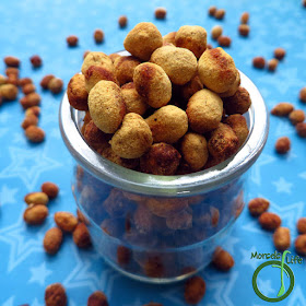 Morsels of Life - Soy Nuts - Crispy, crunchy soy nuts coated with a flavorful (vegan) cheesy topping.