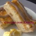 Quiche de queso con anchoas del Cantábrico