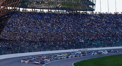 Full weekend schedule for Kansas - #NASCAR