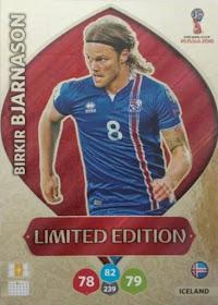 Panini coupe du monde 2018 ADRENALYN XL-Alfred Finnbogason Islande No 189