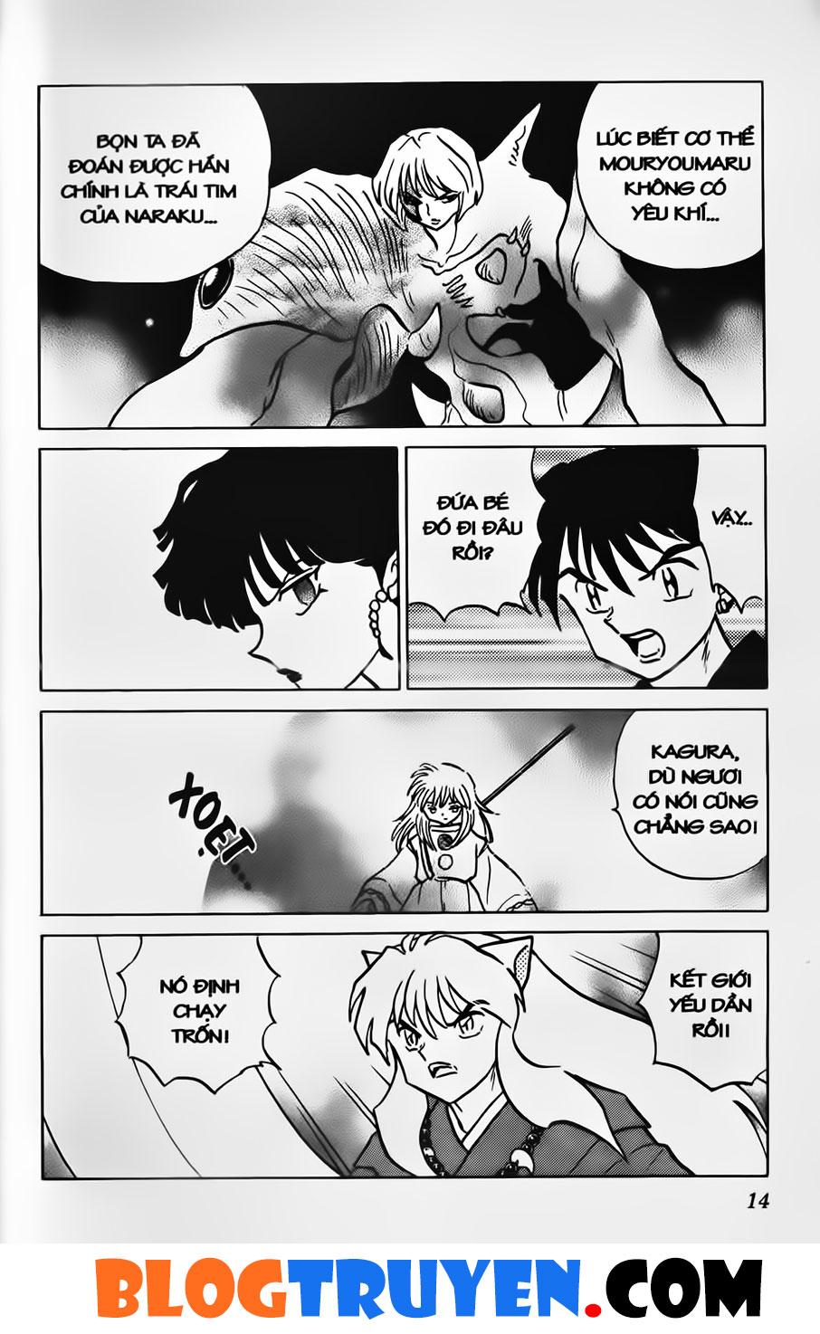 Inuyasha vol 38.1 trang 12