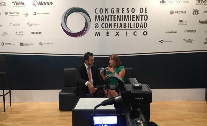 Gerardo Trujillo también Presidente del Comité Panamericano de Ingeniería de Mantenimiento y Gestión de Activos (Copiman). (Foto: Cortesía Noria Latín América)