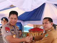 Berkunjung ke Polres Sidrap, Kapolda Sulsel Ajak Semua Pihak Jaga Keamanan Pemilu 2019