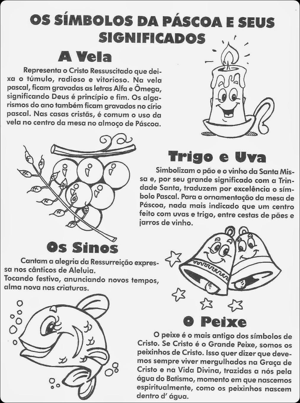 Blog Professor Zezinho Simbolos Da Pascoa E Seus Significados