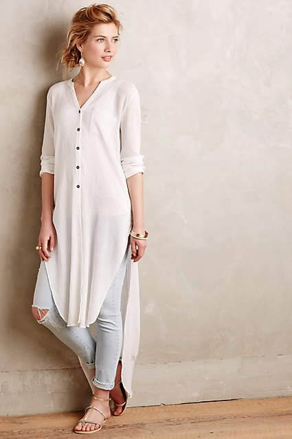 Traditional Kurti With Jeans