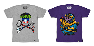 Avengers: Infinity War T-Shirt Collection by Johnny Cupcakes x Marvel