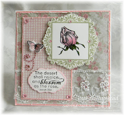 Our Daily Bread Designs Stamp sets:  Blossom, Butterfly and Bugs, Ornate Borders and Flower, ODBD Custom Dies: Vintage Labels, Butterfly and Bugs, Ornate Borders and Flower, Our Daily Bread Designs Shabby Rose Paper Collection