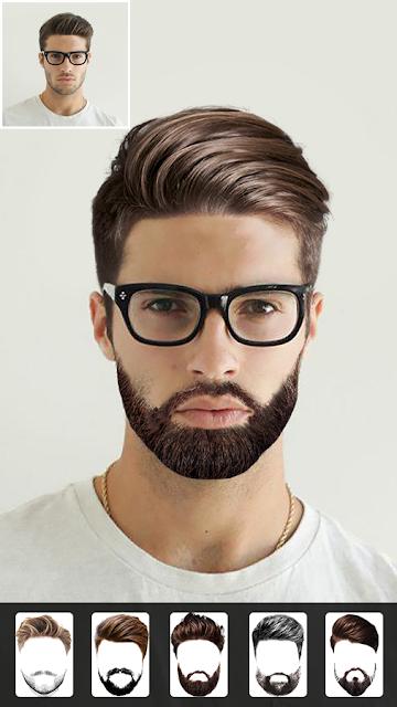 Aplikasi Brewok: Beard Photo Editor - Hairstyle
