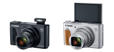 Canon Powershot SX740 HS Berkemampuan 40 Kali Zoom
