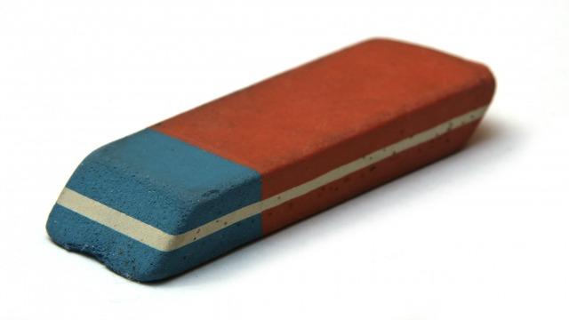 Fungsi Sisi Biru dari Penghapus Pensil