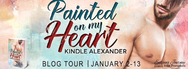 Blog Tour: Kindle Alexander - Painted on my Heart